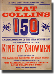 Pat Collins 150th Anniversary Limited Edition Booklet